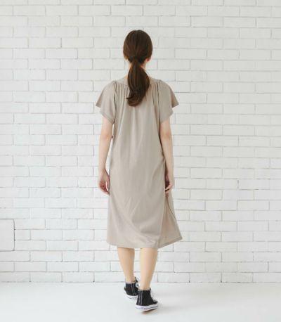 バックスタイル 授乳服 モンターニュ ターコイズ 既存丈・ロング丈 164cm