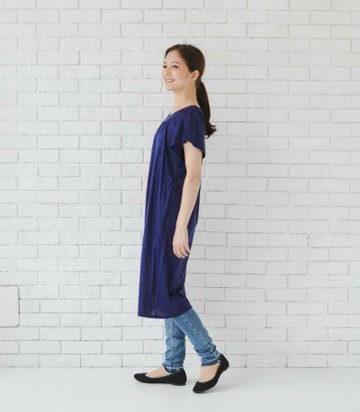 授乳服 モンターニュ カフェラテ 160cm