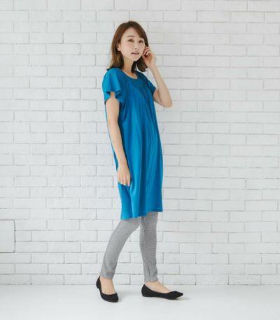 授乳服 モンターニュ ナイトブルー 164cm