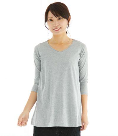 授乳服 CARINO-DTチュニック ブラック Lサイズ 160cm