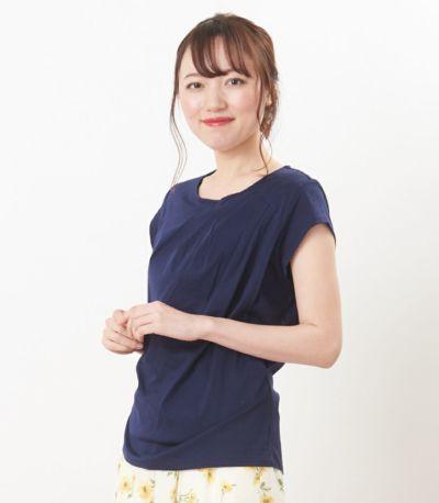 サイドスタイル 授乳服 ポルテ アジュール Mサイズ 164cm