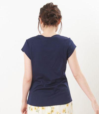 バックスタイル 授乳服 ポルテ アジュール Mサイズ 164cm