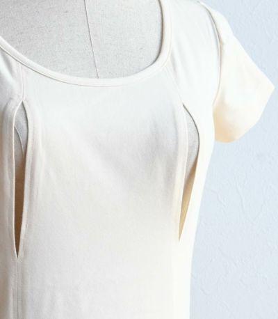 サイドスタイル シンプル穴あき(一分袖)