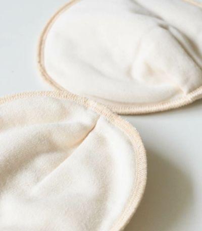 純オーガニックコットン100%<br>母乳パッド【授乳服・マタニティウェア・授乳ブラ】