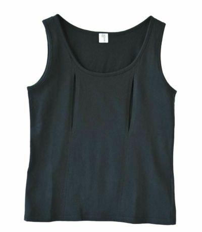フロントスタイル コットン100穴あきシャツ(一分袖)