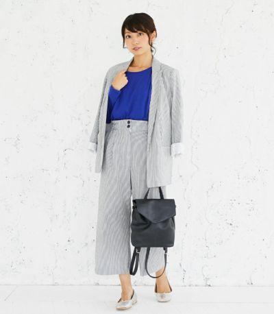 授乳服 CARINO-DT ロングスリーブ ロイヤルブルー Mサイズ 164cm