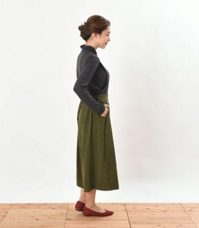 サイドスタイル 授乳服 デュアルウォームタートル チャコール Mサイズ 159cm