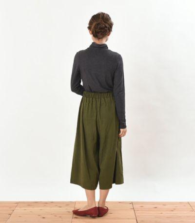 バックスタイル 授乳服 デュアルウォームタートル チャコール Mサイズ 159cm