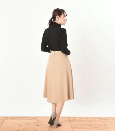 バックスタイル 授乳服 デュアルウォームタートル ブラック Lサイズ 164cm