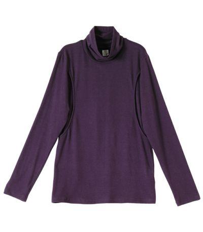 パープル:深みのある紫はさし色として大活躍