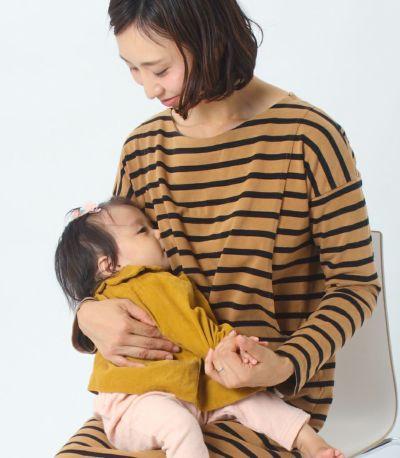 授乳写真:授乳口はサイドスリットタイプ