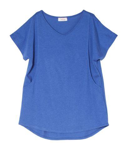 スカイブルー:涼しげで大人っぽく着られるブルー