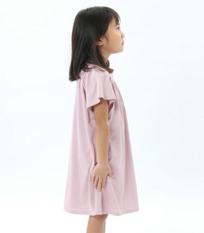 サイドスタイル 授乳服〈こども服〉 モンターニュ・キッズ モーヴピンク 110㎝