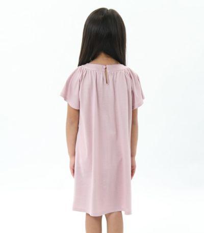 バックスタイル 授乳服〈こども服〉 モンターニュ・キッズ モーヴピンク 110㎝