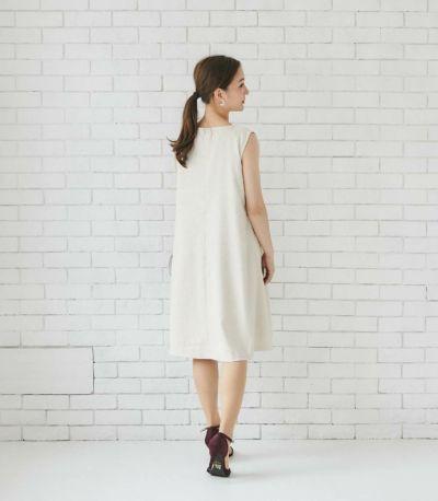 サイドスタイル 授乳服 エクラ ベージュ 164cm