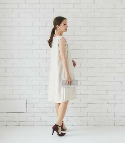 バックスタイル 授乳服 エクラ ベージュ 164cm