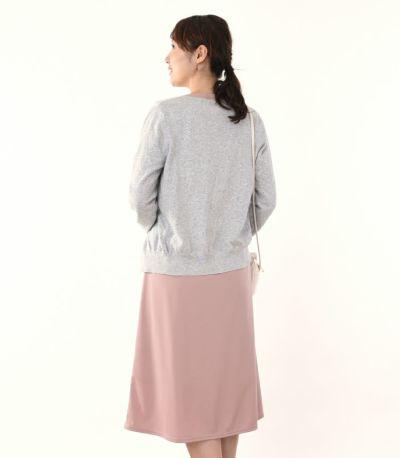 バックスタイル 授乳服 フロンセ グレイッシュピンク 164cm