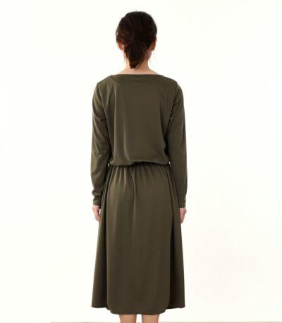 バックスタイル 授乳服 フロンセ グリーンカーキ 160cm