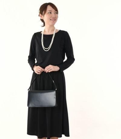フロントスタイル 授乳服 フロンセ ブラック 164cm