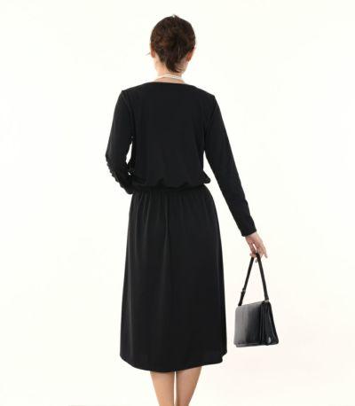 バックスタイル 授乳服 フロンセ ブラック 164cm