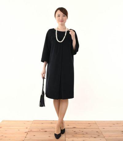 フロントスタイル 授乳服 ヴィーナススウェードレーシー ブラック 164cm
