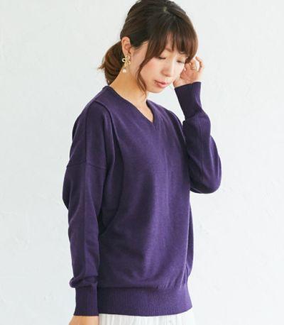 サイドスタイル 授乳服 ココリータ パープル 164cm