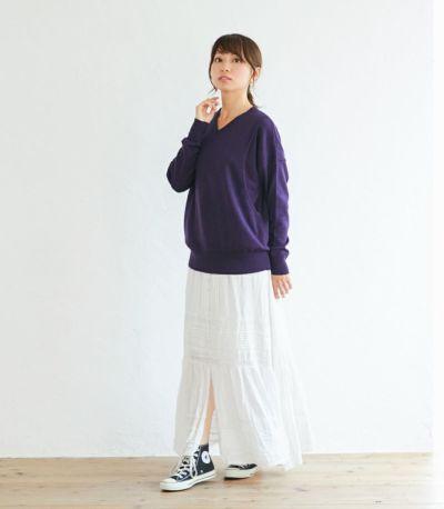 授乳服 ココリータ パープル 164cm