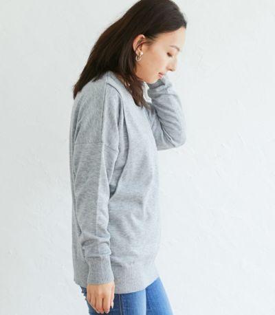 サイドスタイル 授乳服 ココリータ グレー 160cm