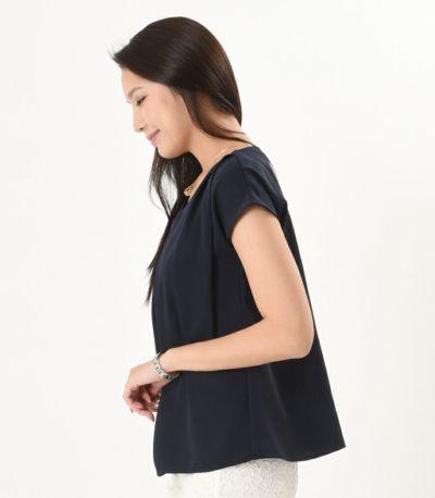 サイドスタイル 授乳服 fino(フィノ) ディープシー Mサイズ 168cm