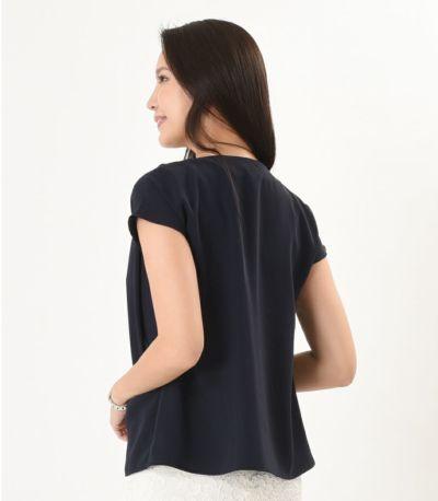 バックスタイル 授乳服 fino(フィノ) ディープシー Mサイズ 168cm
