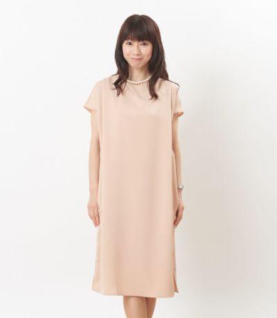 フロントスタイル 授乳服 フォンデュ シャンパンピンク 160cm