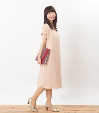 サイドスタイル 授乳服 フォンデュ シャンパンピンク 160cm