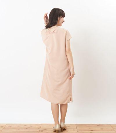 バックスタイル 授乳服 フォンデュ シャンパンピンク 160cm
