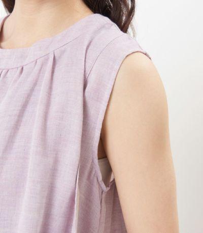 ふんわりオーガニックワンピ 授乳服 マタニティ服 日本製【授乳服・マタニティウェア・授乳ブラ】