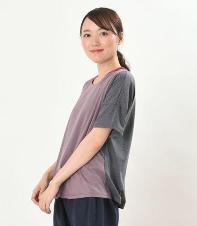 サイドスタイル 授乳服 デュオ 杢グレー 164cm