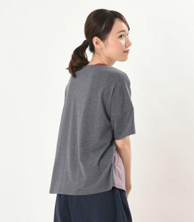 バックスタイル 授乳服 デュオ 杢グレー 164cm