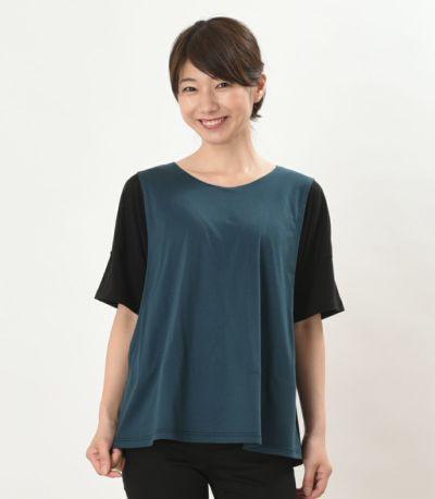 フロントスタイル 授乳服 デュオ ブラック 160cm