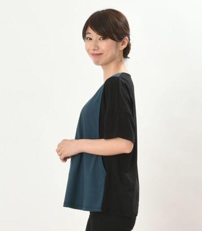 サイドスタイル 授乳服 デュオ ブラック 160cm