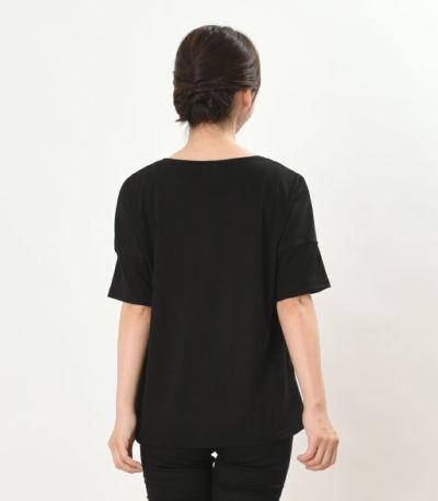 バックスタイル 授乳服 デュオ ブラック 160cm