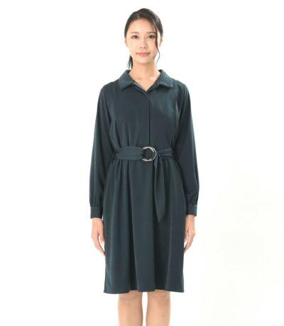 フロントスタイル 授乳服 Libre(リブレ) モスグリーン 168cm