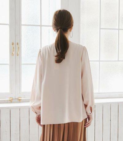 バックスタイル 授乳服 ピュアミール フレンチピンク 160cm