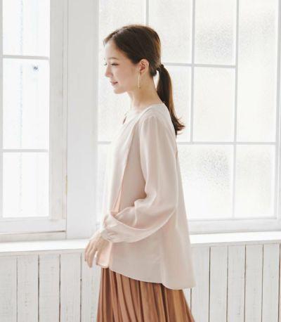 授乳服 ピュアミール フレンチピンク 160cm