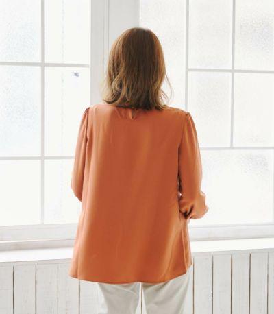 フロントスタイル 授乳服 ピュアミール ネイビー 164cm