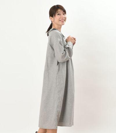 サイドスタイル 授乳服 パストラル サンドグレー 160cm
