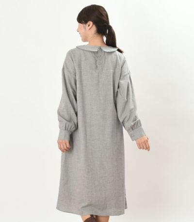 バックスタイル 授乳服 パストラル サンドグレー 160cm