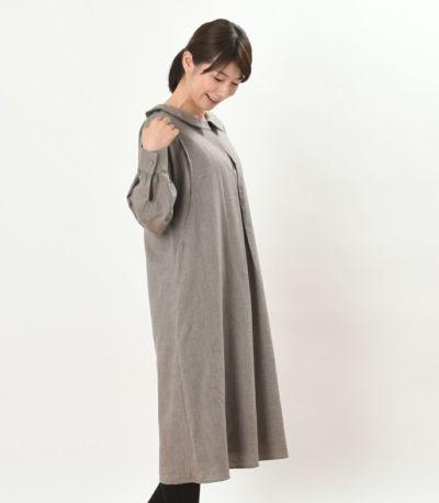 サイドスタイル 授乳服 パストラル アースブラウン 160cm