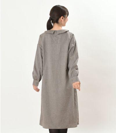 バックスタイル 授乳服 パストラル アースブラウン 160cm