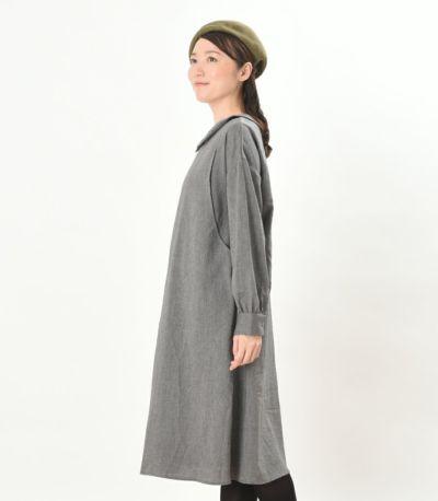 サイドスタイル 授乳服 パストラル チャコール 164cm
