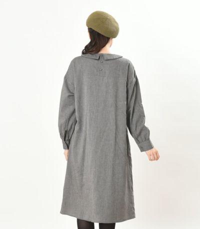 バックスタイル 授乳服 パストラル チャコール 164cm