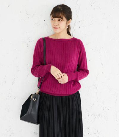 授乳服 コローレニット ラズベリーピンク Lサイズ 160㎝